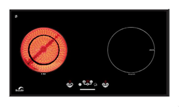 Bếp hỗn hợp điện từ – BE 720ETS